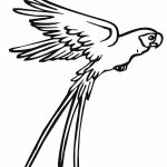 Parrot Coloring Pages Scarlet Macaw Coloring Page Elegant Free Printable Parrot Coloring