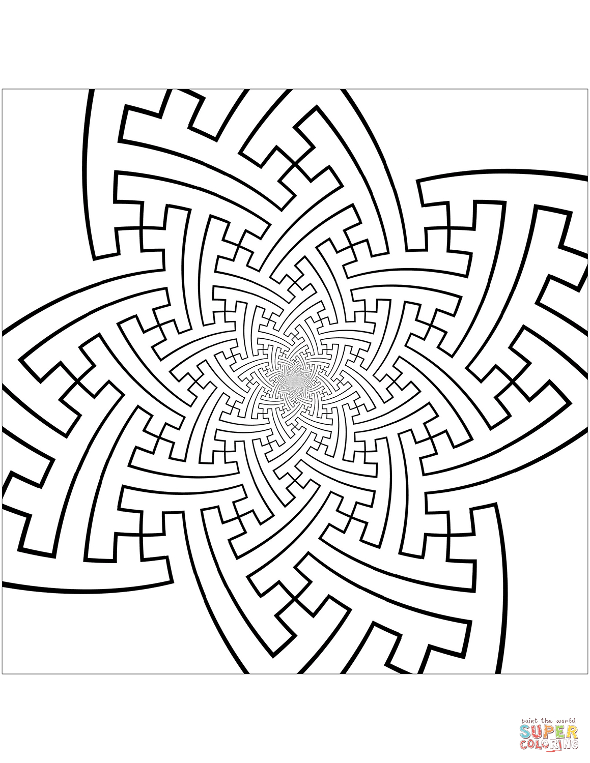 30+ Brilliant Picture of Pattern Coloring Pages