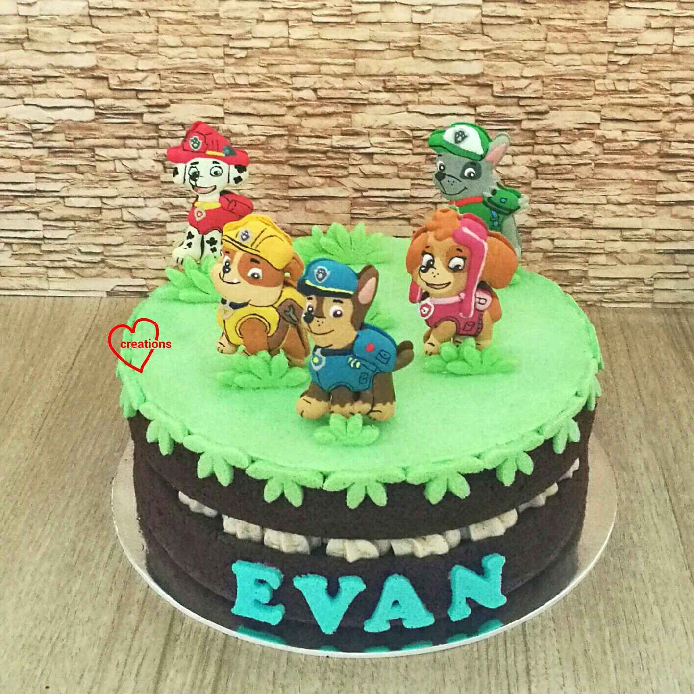1416 X In 25 Excellent Picture Of Paw Patrol Birthday Cake Toppers