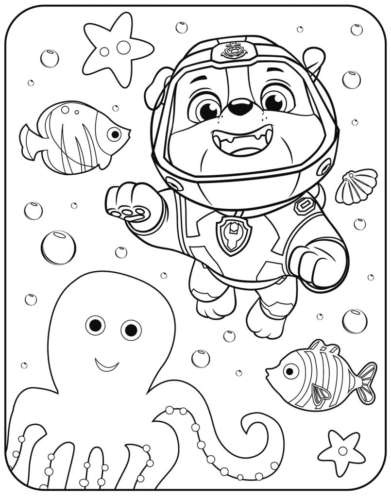 Paw Patrol Coloring Pages Disney Paw Patrol Coloring Pages Pic Share Colorier