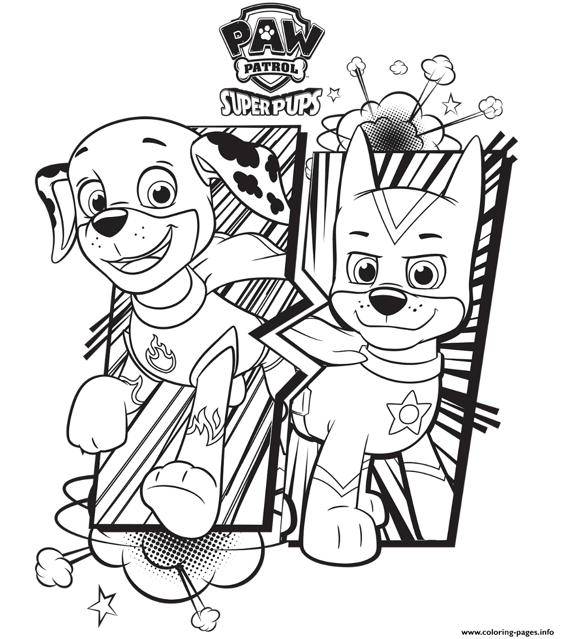Paw Patrol Coloring Pages Free Paw Patrol Coloring Pages Happiness Is Homemade