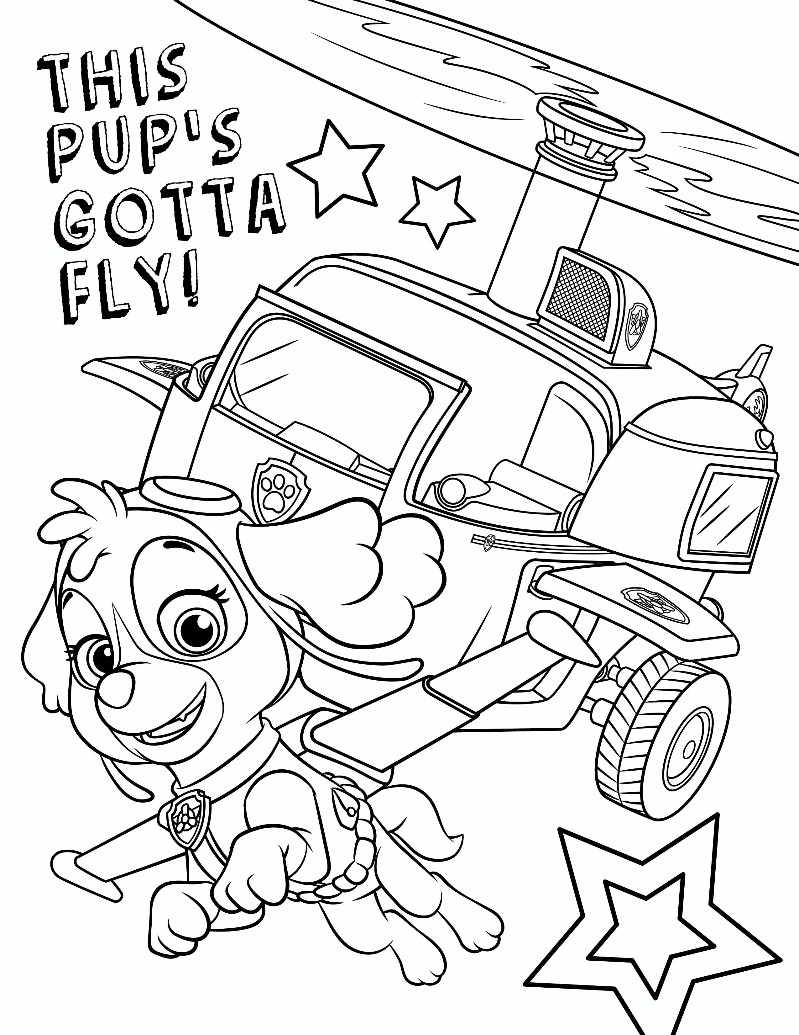 Paw Patrol Coloring Pages Harry Potter Playing Quidditch Coloring Pages Color Paw Patrol