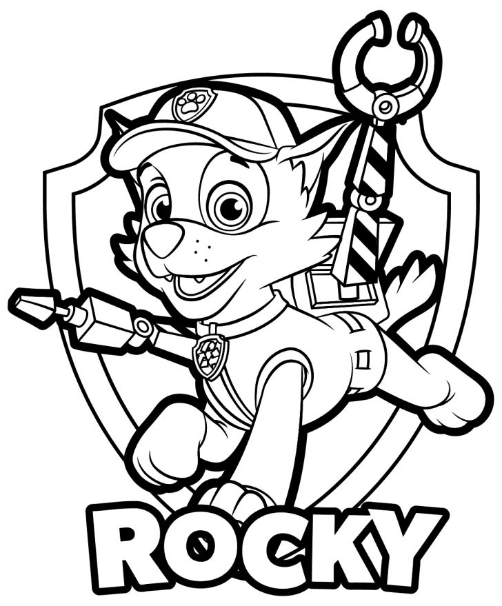 Paw Patrol Coloring Pages Paw Patrol Coloring Pages Free Download Best Paw Patrol Coloring