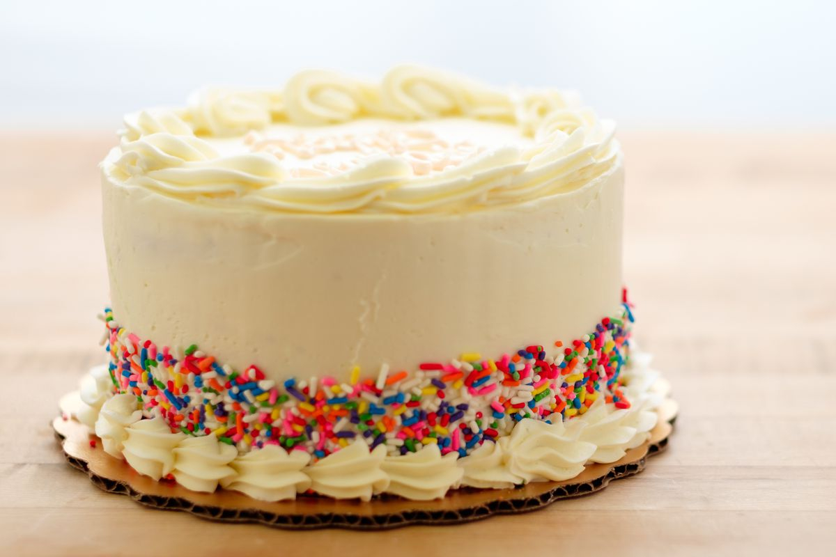Photo Birthday Cake The Sprinkle Bakes 1st Sallys Baking Addiction Online Delivery Not