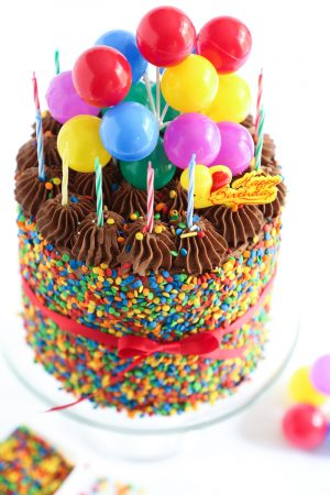 Picture Of Birthday Cakes The Birthday Cake Sprinkle Bakes