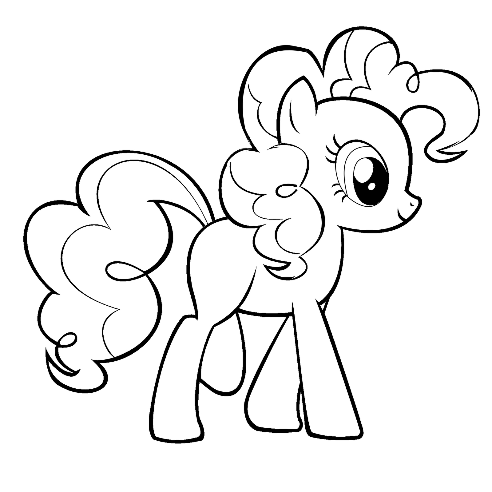 25+ Wonderful Picture of Pinkie Pie Coloring Pages