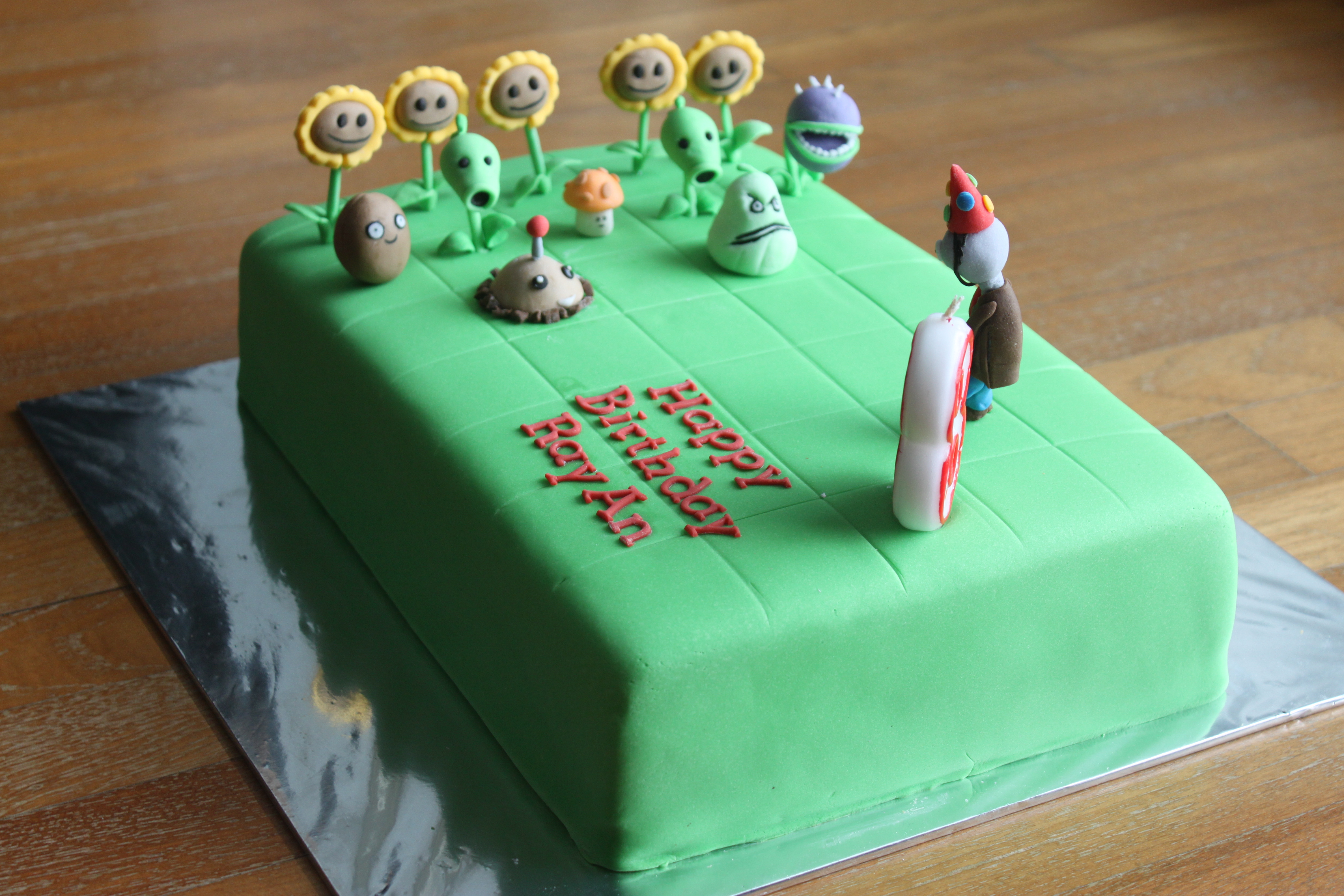 4752 X 3168 In 34 Exclusive Picture Of Plants Vs Zombies Birthday Cake