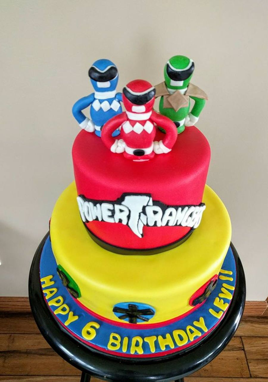 25+ Amazing Picture of Power Ranger Birthday Cakes