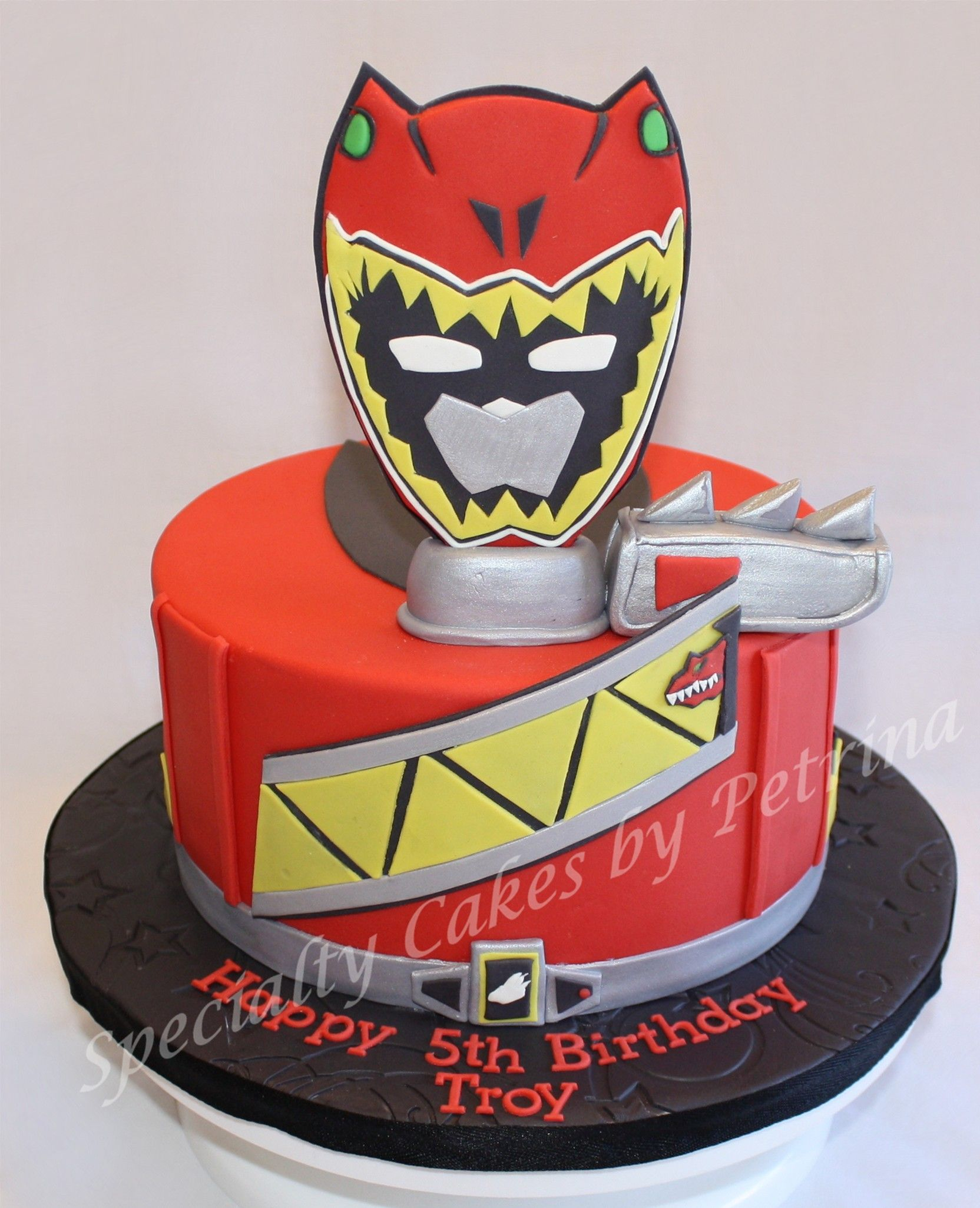 Power Rangers Birthday Cake Dino Charge Power Ranger Cake Birthday Pinterest Power Ranger