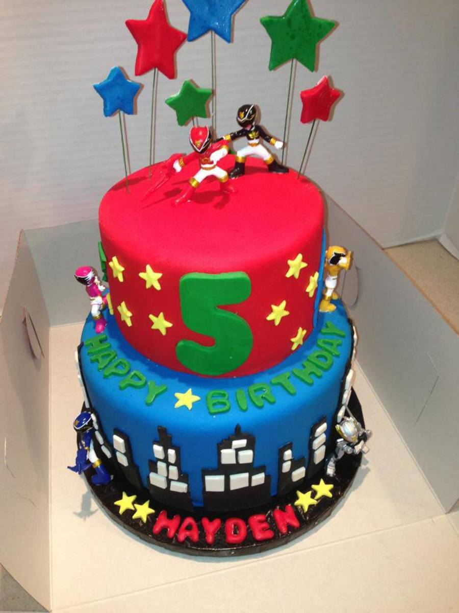 Power Rangers Birthday Cake Power Ranger Birthday Cake Cakecentral