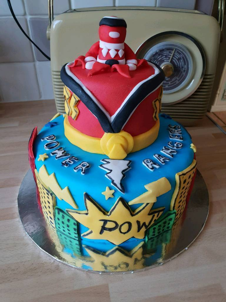 Power Rangers Birthday Cake Power Ranger Birthday Cake In Norwich Norfolk Gumtree
