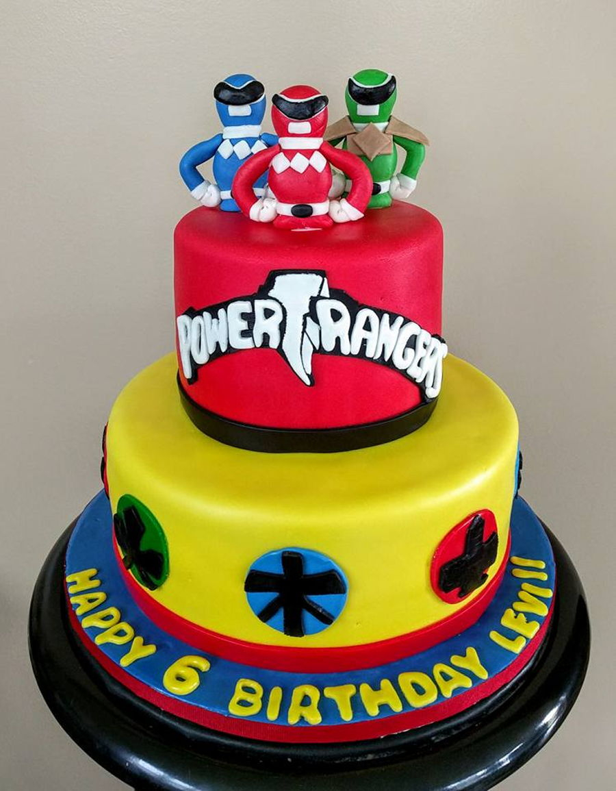Power Rangers Birthday Cake Power Ranger Cakecentral