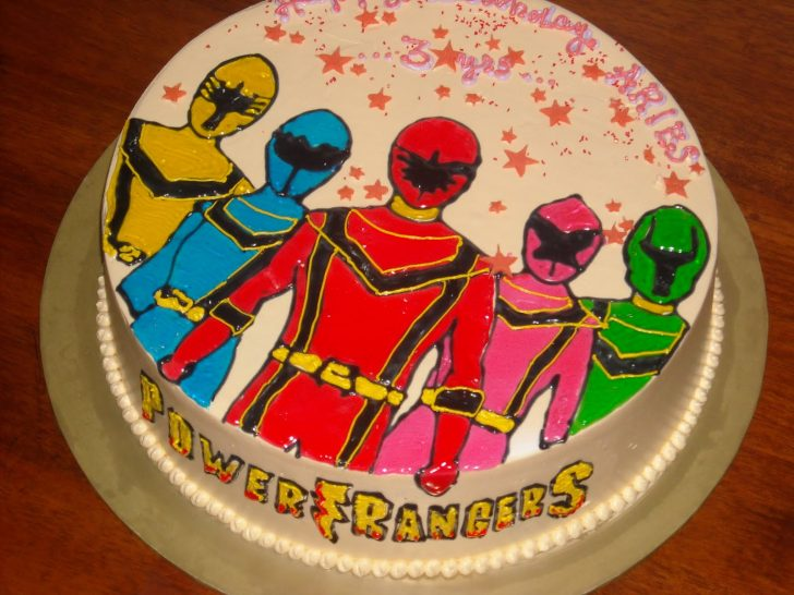 Power Rangers Birthday Cake Power Ranger Cakes Decoration Ideas Little Birthday Cakes