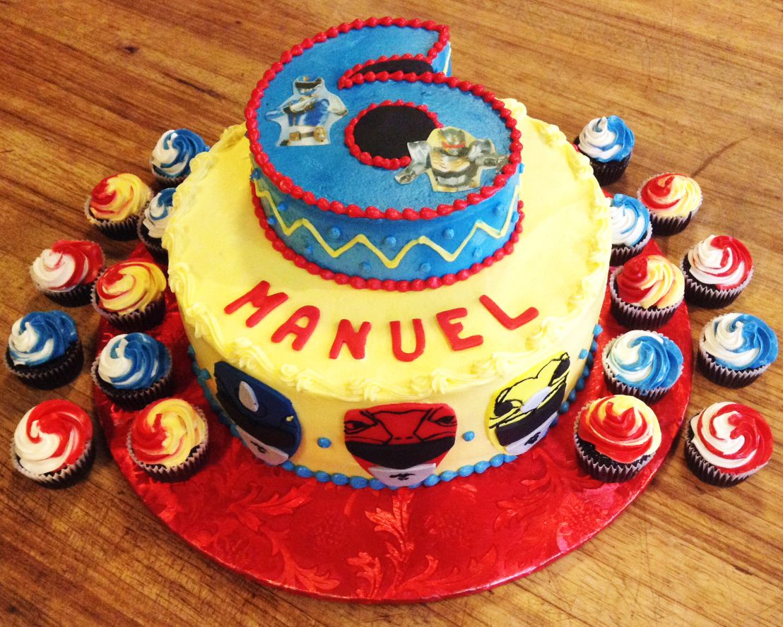 Power Rangers Birthday Cake Power Rangers 6th Birthday Cake For A Boy Jude Christopher