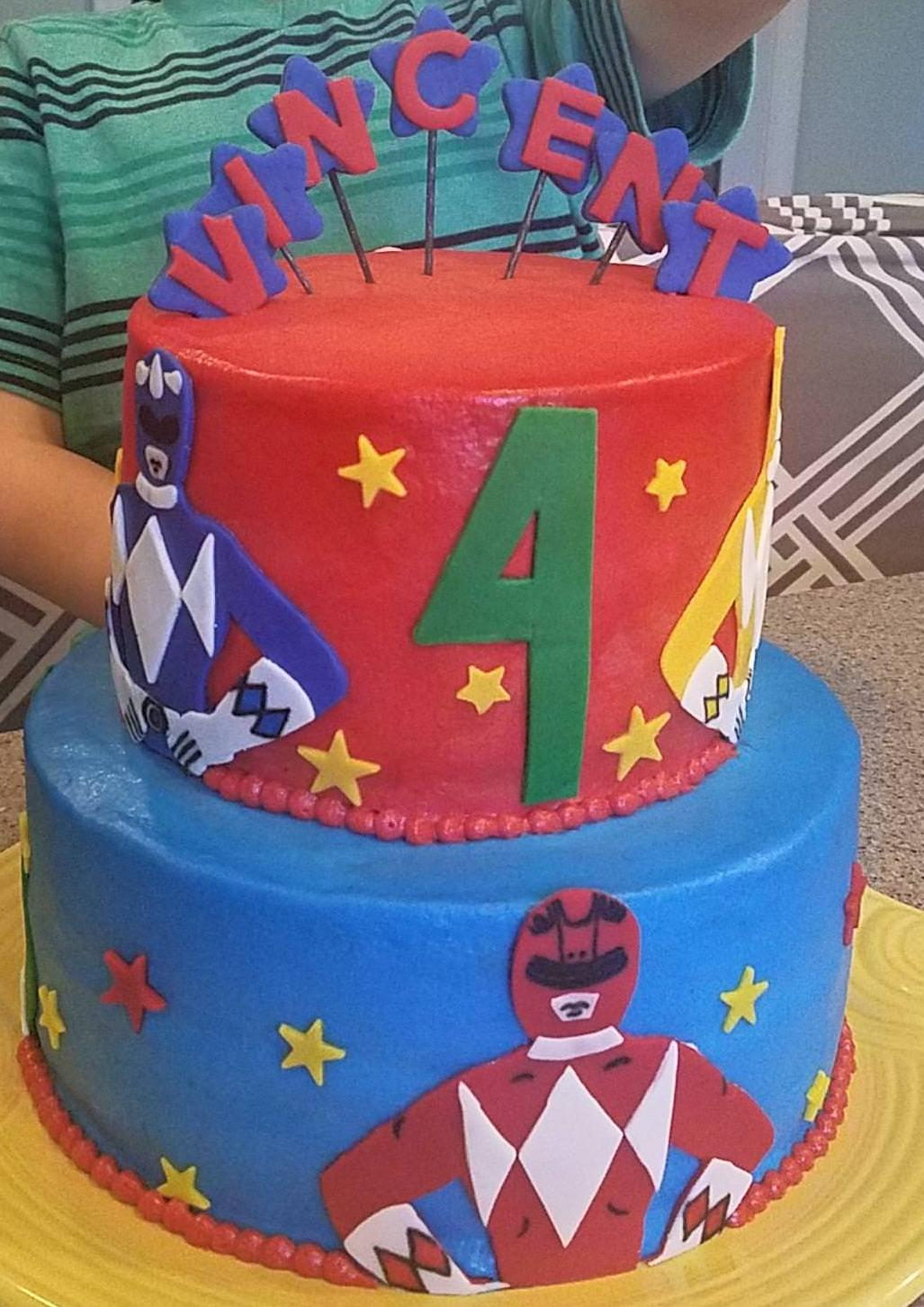 Power Rangers Birthday Cake Power Rangers Birthday Cake Album On Imgur
