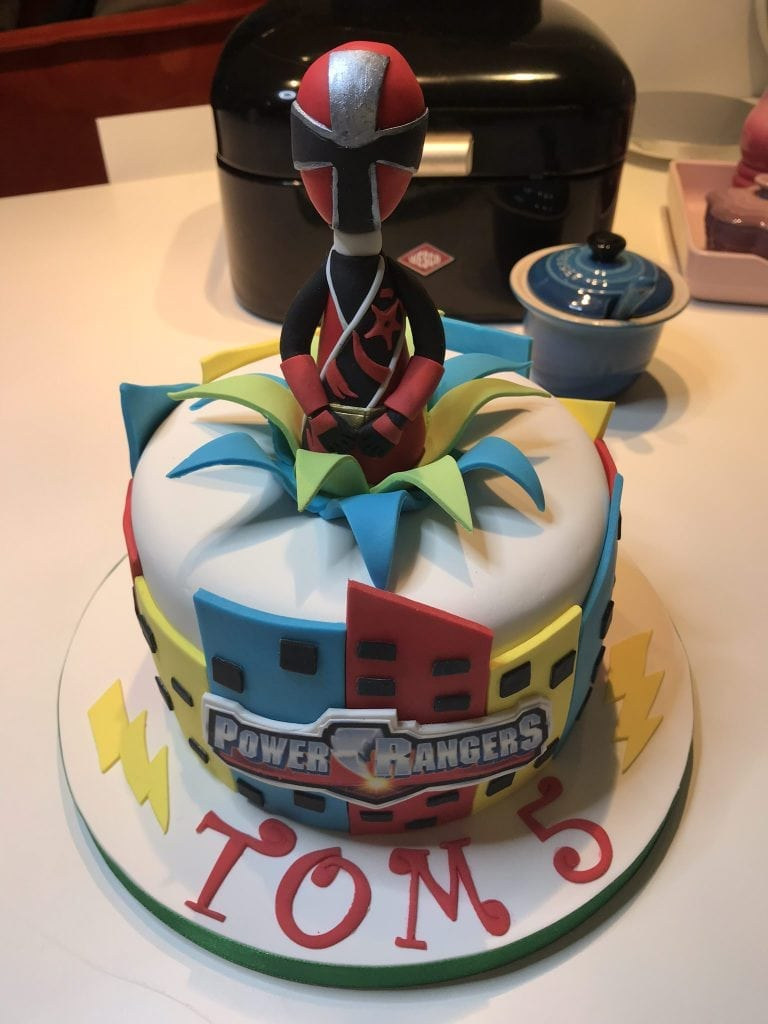 Power Rangers Birthday Cake Power Rangers Birthday Cake Patricia Creative Cakes