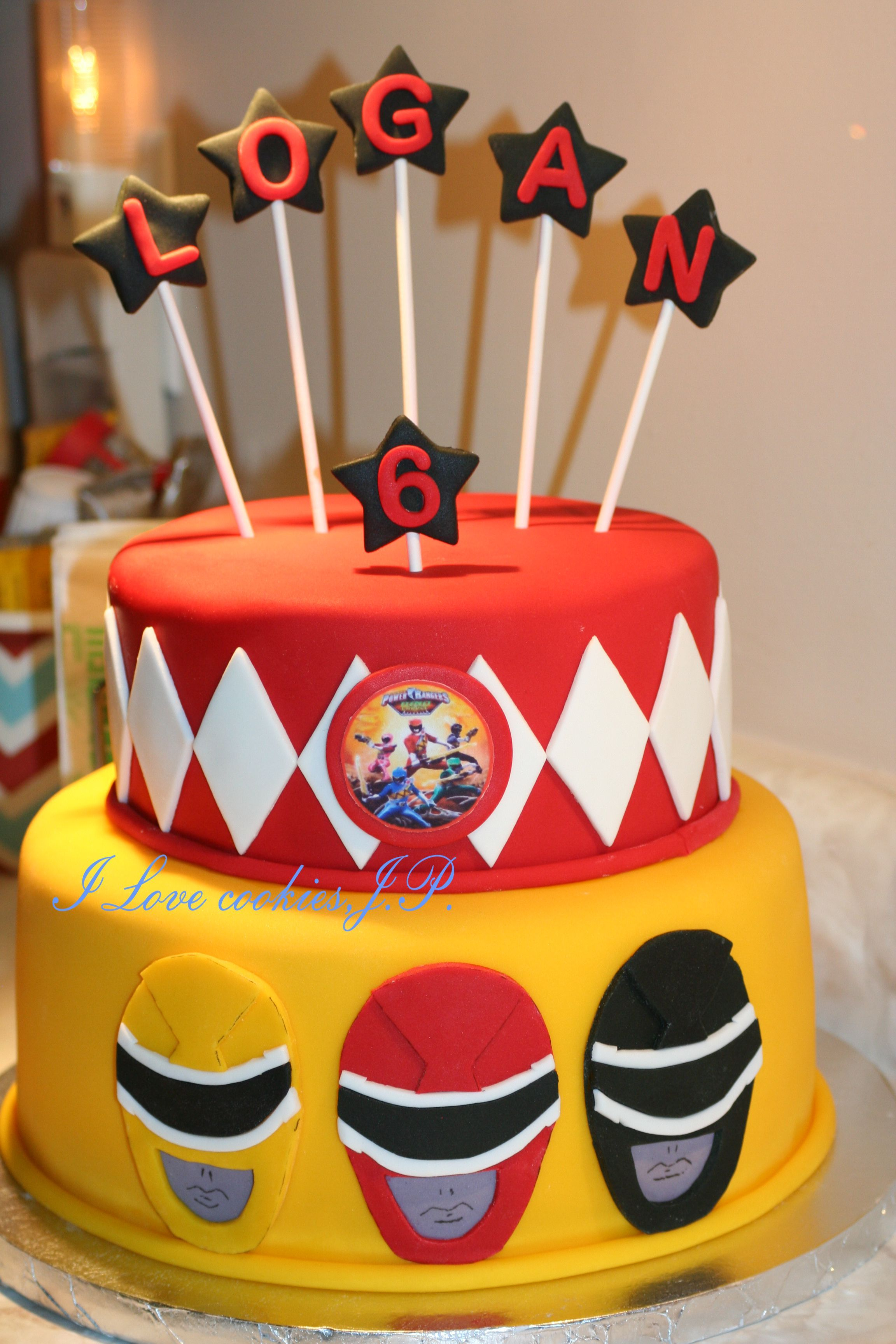 Power Rangers Birthday Cake Power Rangers Cake Cakes Power Ranger Birthday Power Ranger