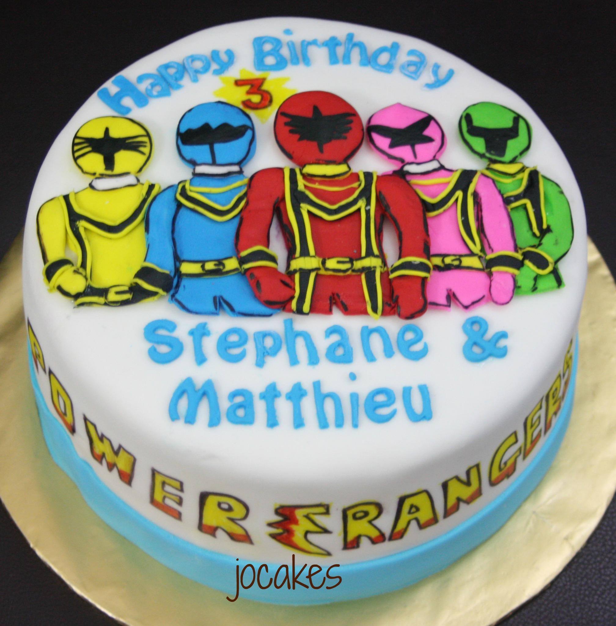 Power Rangers Birthday Cake Power Rangers Cake Jocakes
