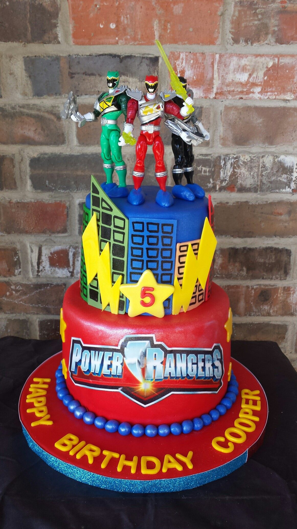Power Rangers Birthday Cake Power Rangers Cake Max Amor Cakes Wedding Power Ranger