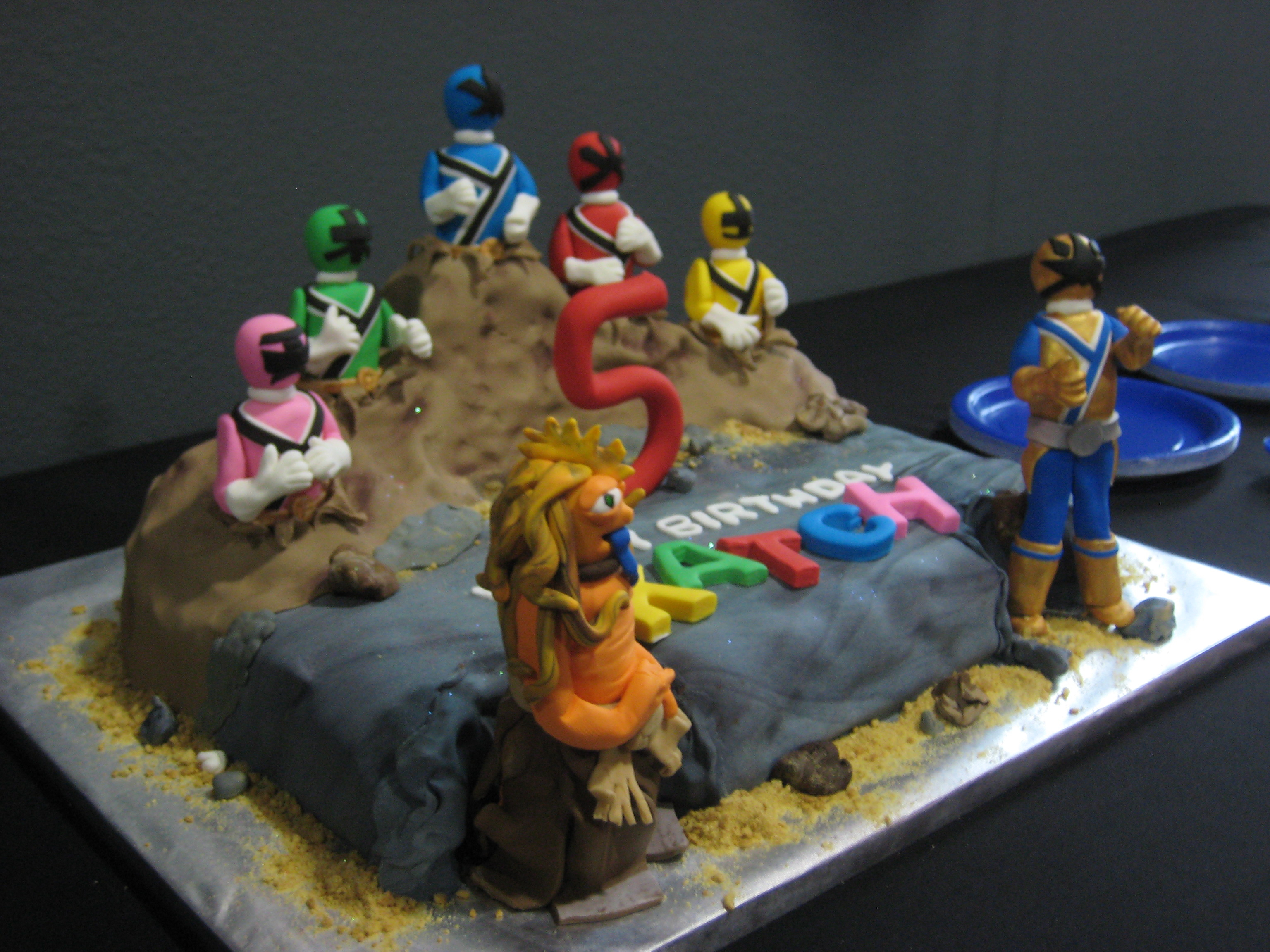 Power Rangers Birthday Cake Power Rangers Cake Rdie Girl Custom Cakes