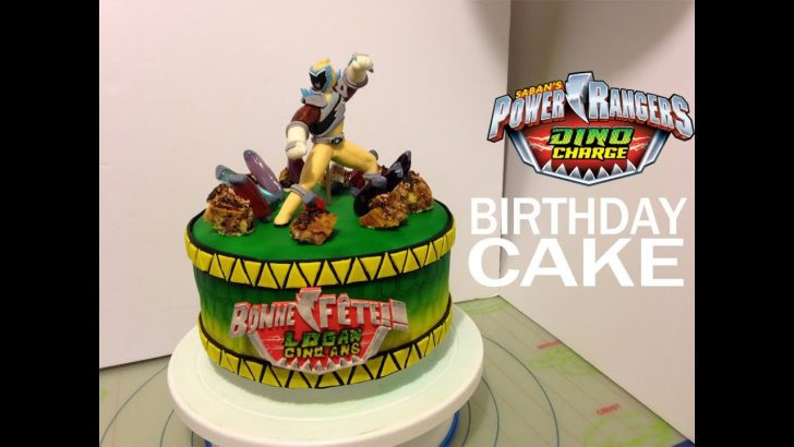 Power Rangers Birthday Cake Power Rangers Dino Charge Personalized Birthday Cake Idea And