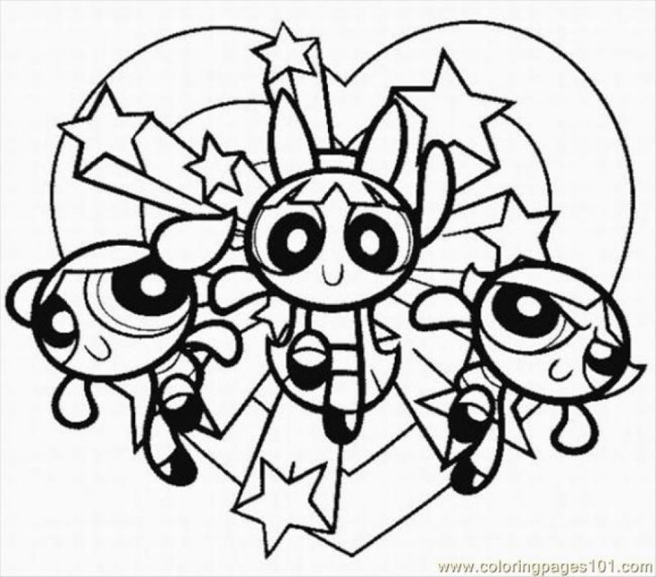 Powerpuff Girls Coloring Pages Coloring Pages Powerpuff Girls Coloring Pages At Getcolorings Com