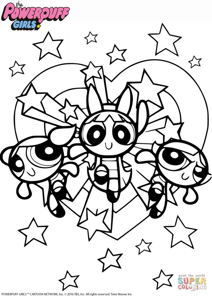 Powerpuff Girls Coloring Pages Coloring Pages Powerpuff Girls Coloringage Freerintableages The