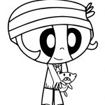 Powerpuff Girls Coloring Pages Powerpuff Girls Bubbles Coloring Pages At Getdrawings Free For