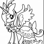 Princess Coloring Page Little Pony Coloring Pages Free Download Best Little Pony Coloring