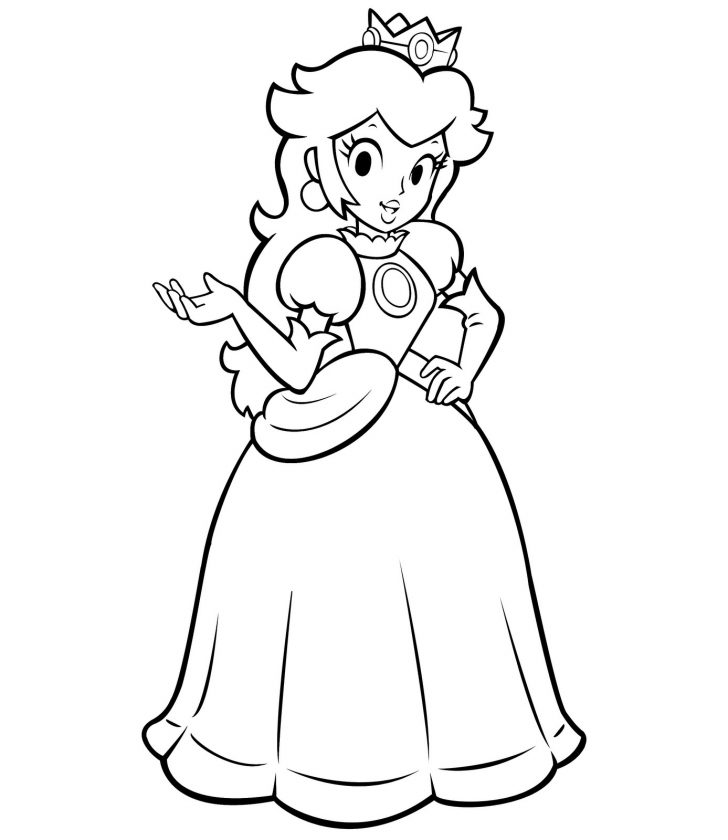 Princess Coloring Page Princess Coloring Pages Best Coloring Pages For Kids