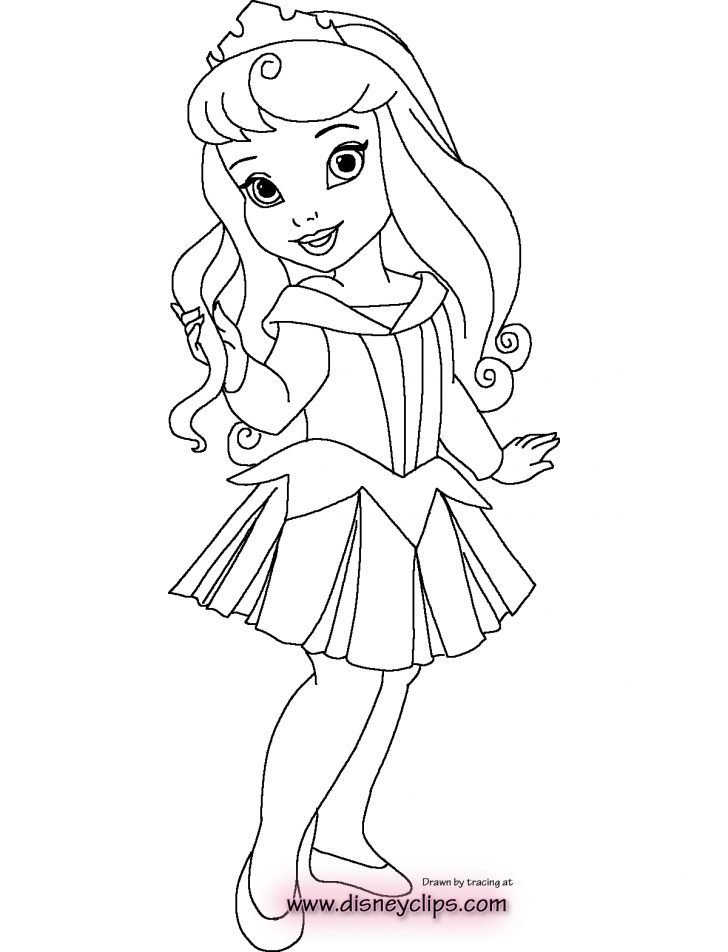 Princess Coloring Page Princess Coloring Pages With Free Disney Printables Also Book Kids