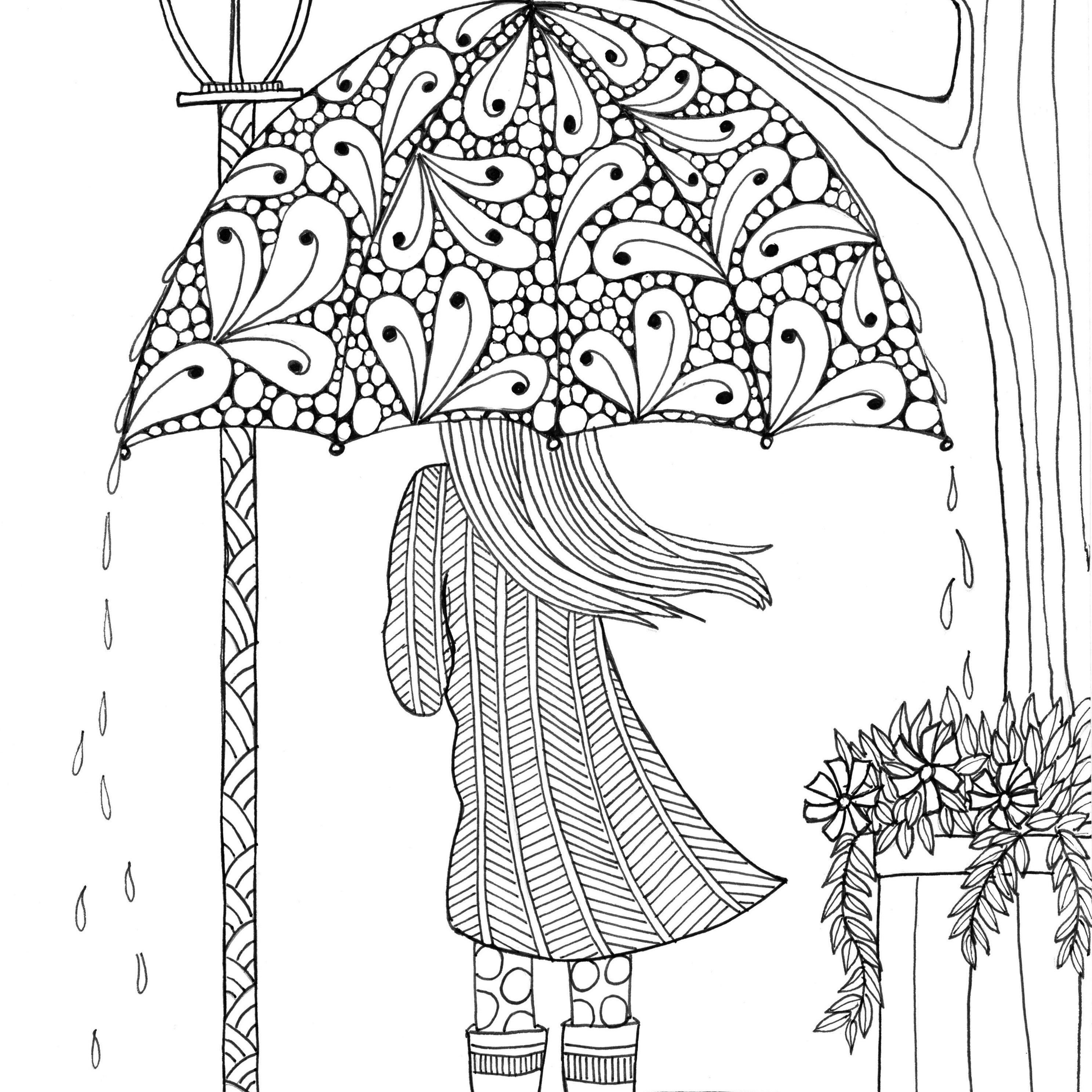 Printable Coloring Pages For Girls Adult Coloring Pages Kind Words Printable 13 M 15 For Girls Unique