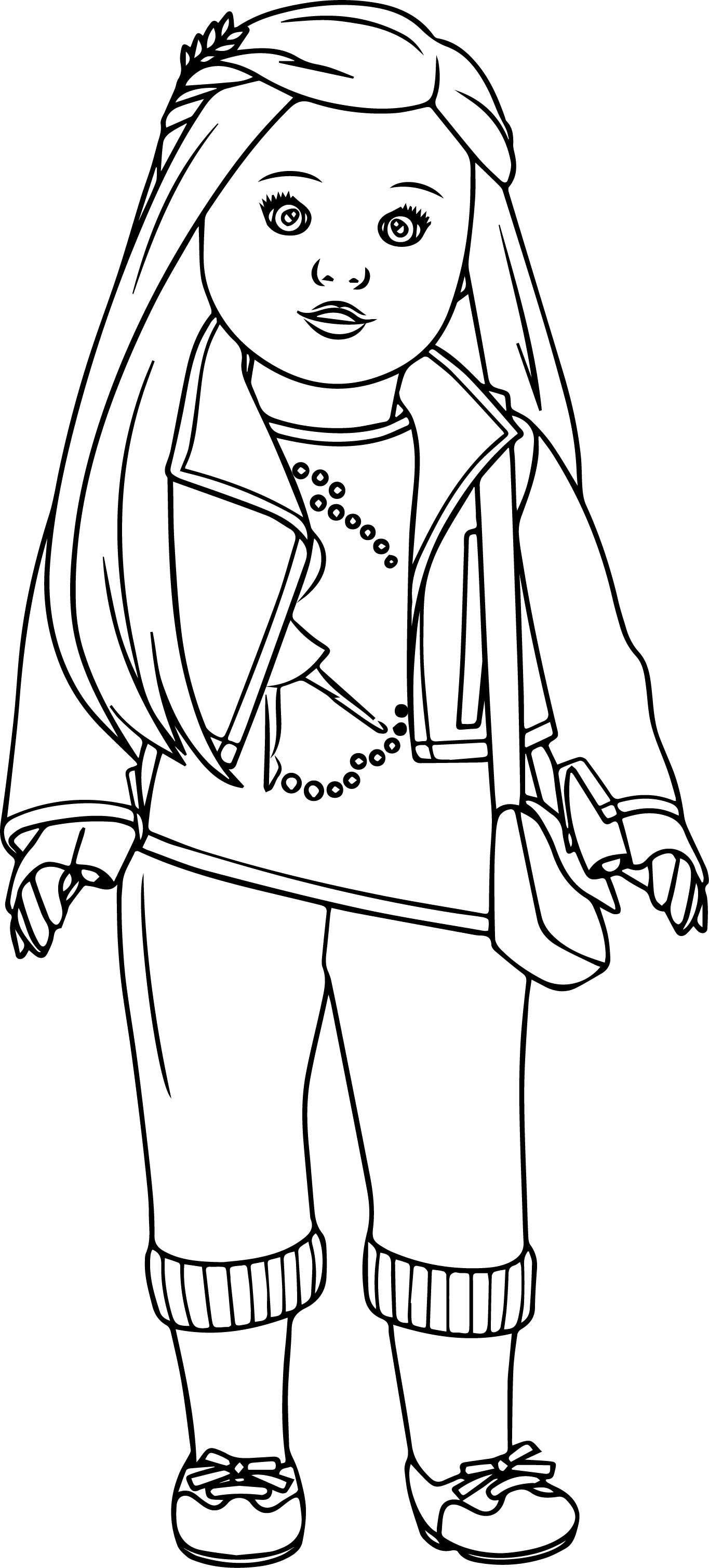 Printable Coloring Pages For Girls Free Printable Coloring Pages Of American Girl Dolls Lovely Unique