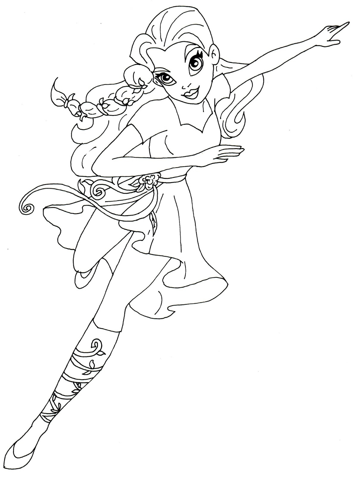 Printable Coloring Pages For Girls Girl Superhero Printable Coloring Pages For Kids Printable