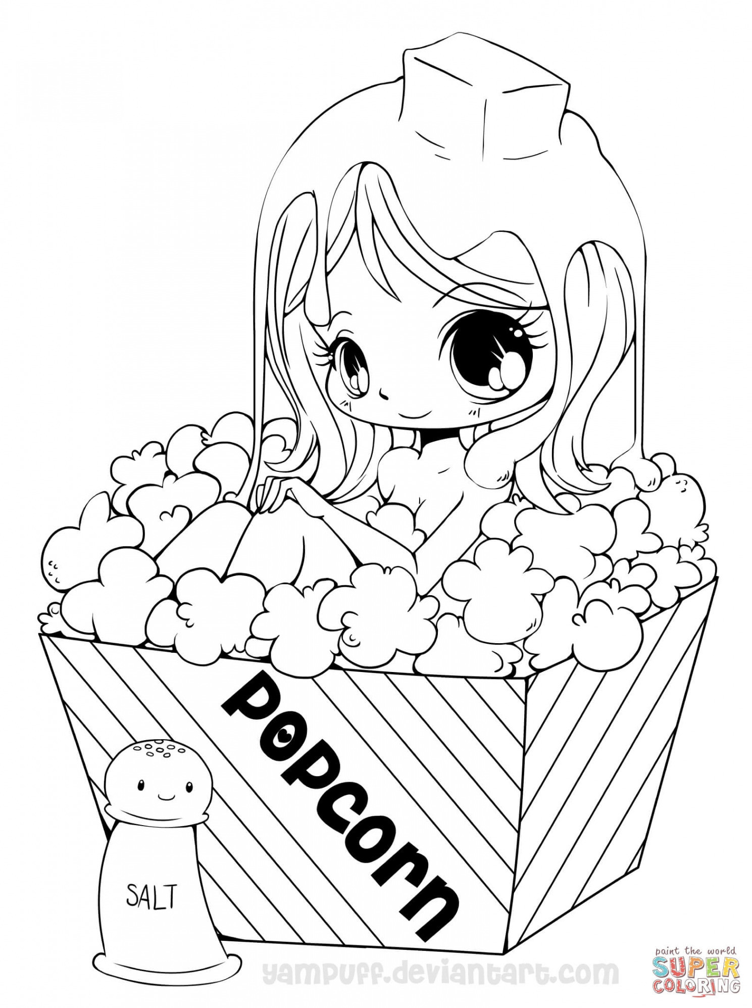 Printable Coloring Pages For Girls Printable Coloring Pages American Girl Dolls Awesome Anime Cat Girl