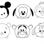 Printable Disney Coloring Pages Tsum Tsum Disney Colouring Pages Coloring Pages Printable
