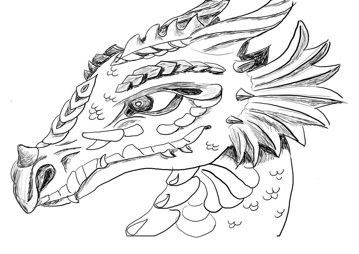 Printable Dragon Coloring Pages Coloring Pages Dragoarting Pages Wolves Pokemon Printables Animals