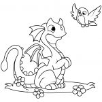 Printable Dragon Coloring Pages Dragon Coloring Pages Free Coloring Pages