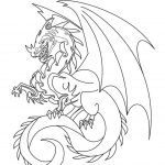 Printable Dragon Coloring Pages Printable Dragon Coloring Pages For Kids Cool2bkids
