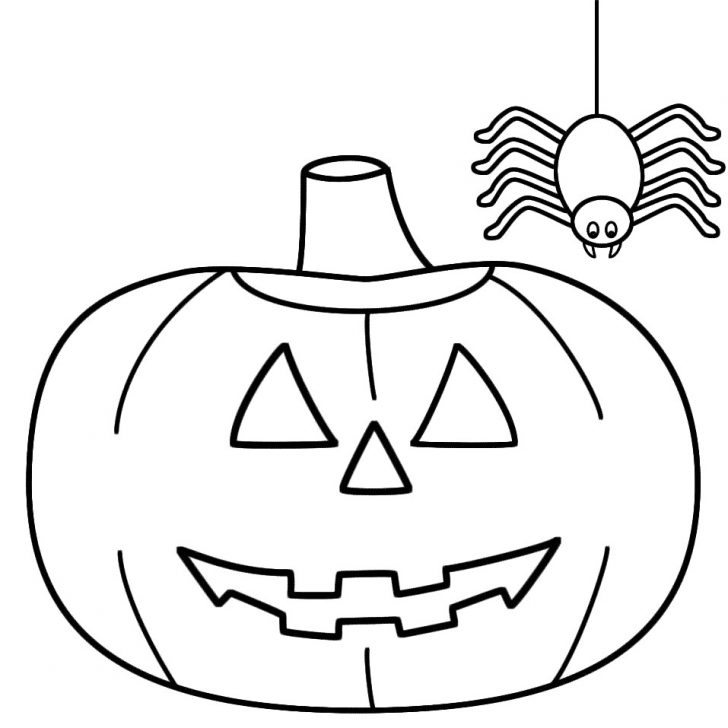 Printable Pumpkin Coloring Pages Halloween Pumpkin Coloring Pages Printable Asptur Intended For