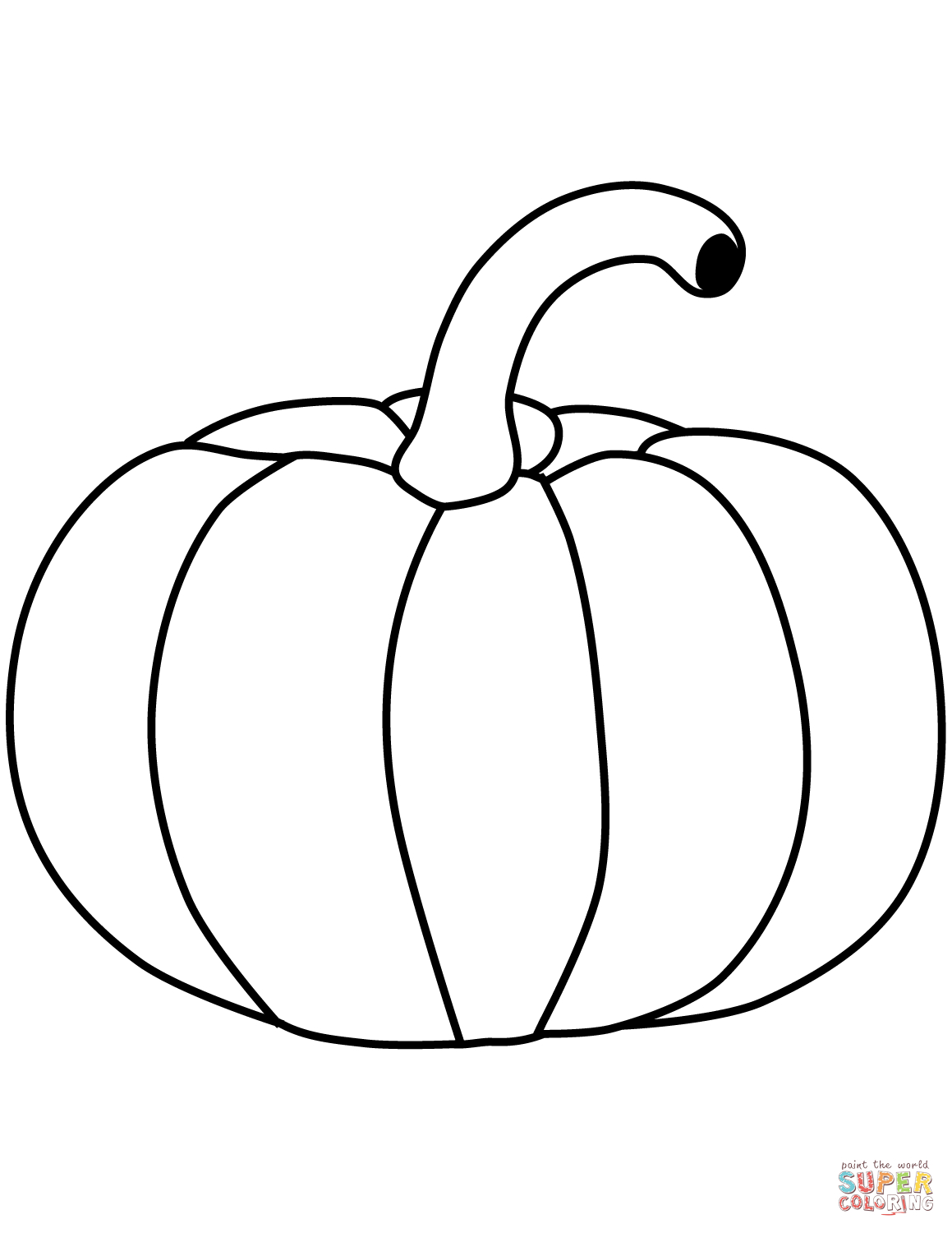 Printable Pumpkin Coloring Pages Pumpkin Coloring Page Free Printable Coloring Pages