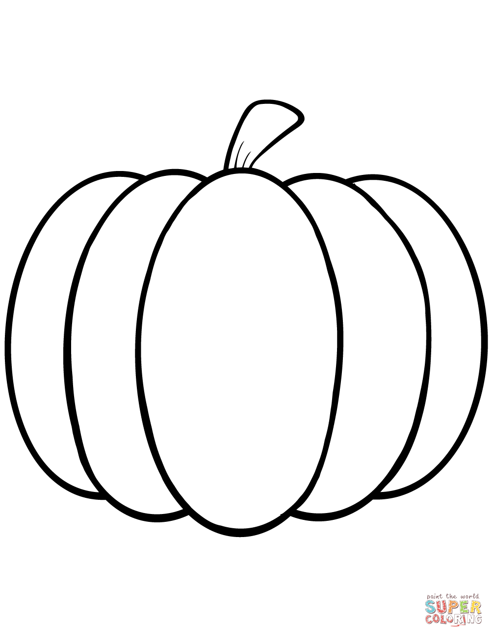 Inspiration Picture of Printable Pumpkin Coloring Pages