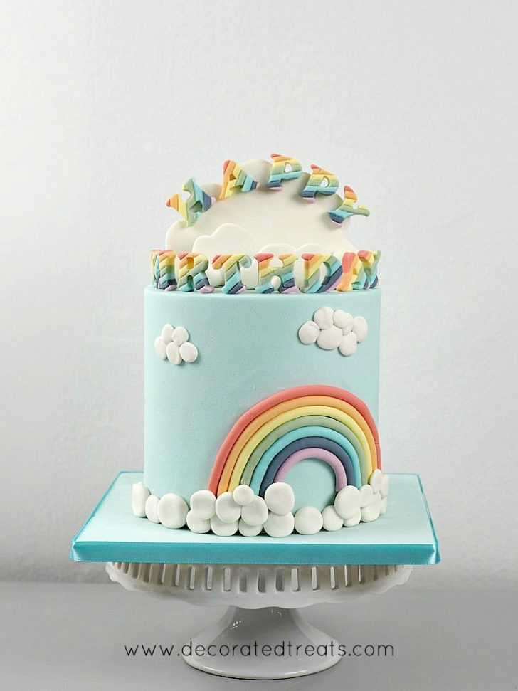 Rainbow Birthday Cake Rainbow Birthday Cake