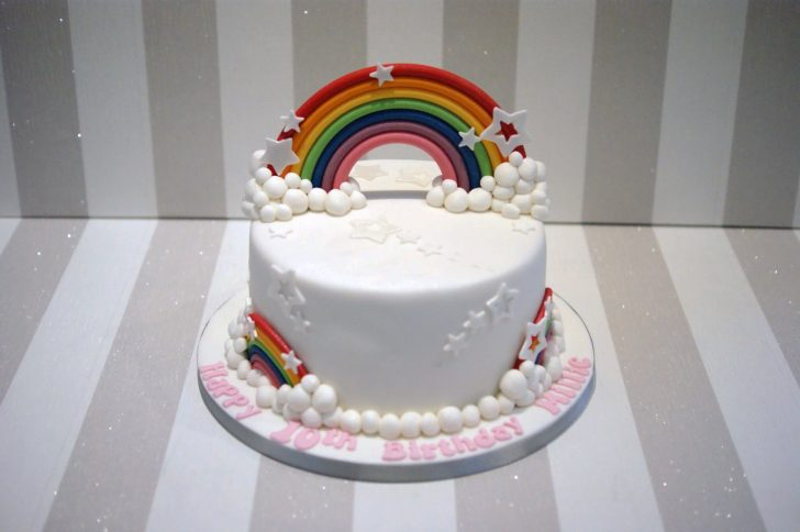 Rainbow Birthday Cake Rainbow Birthday Cake Bakealous