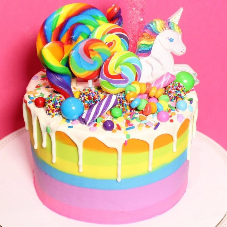 Rainbow Birthday Cake Rainbow Birthday Cakes For Kids Popsugar Family
