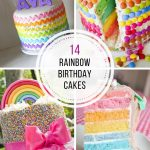 Rainbow Birthday Cakes 14 Totally Magical Rainbow Birthday Cakes For Girls