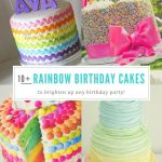Rainbow Birthday Cakes 14 Totally Magical Rainbow Birthday Cakes For Girls Food Drink