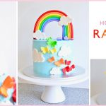 Rainbow Birthday Cakes How To Make A Rainbow Birthday Cake A House Full Of Sunshine