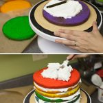 Rainbow Birthday Cakes Rainbow Birthday Cake The Little Kitchen