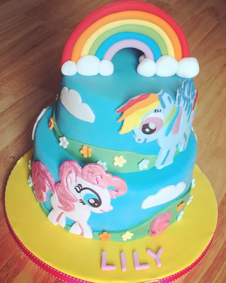 Rainbow Dash Birthday Cake My Little Pony Birthday Cake Bessies Bakery